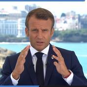 Emmanuel Macron annonce un accord avec les transporteurs maritimes pour réduire les émissions de CO2