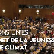 Climat : l'ONU organise un sommet de la jeunesse