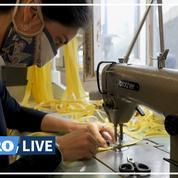 Fabricants de masques, la nouvelle vie des couturiers de l'Opéra de Marseille