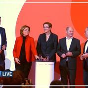 Allemagne: le vice-chancelier de Merkel battu à l'élection à la présidence du SPD