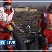 Iran: les secours sur place après le crash du Boeing ukrainien