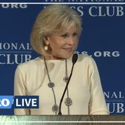 Climat: Jane Fonda a tenté d'amadouer Donald Trump
