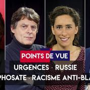 Points de vue du 9 septembre : urgences, Russie, glyphosate, racisme anti-blancs