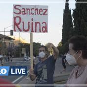 Les Madrilènes manifestent et exigent la démission du premier ministre