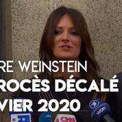 Affaire Weinstein : son avocate confirme le report du procès à janvier 2020