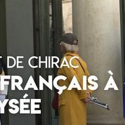 Au lendemain de la mort de Jacques Chirac, les hommages de citoyens se poursuivent à l'Élysée