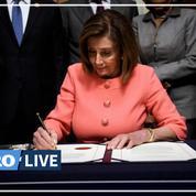 Impeachment: «Nous entrons dans l'Histoire», affirme Nancy Pelosi