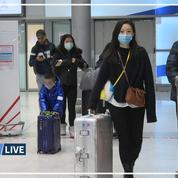 Coronavirus: à Roissy, les passagers provenant de Chine accueillis par une équipe médicale