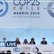 La déception des négociateurs de la COP 25 après sa clôture