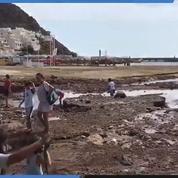Espagne : les images au lendemain des inondations