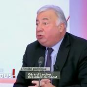 Retraites: Gérard Larcher reproche au gouvernement «de ne pas avoir dit la vérité» à la CFDT