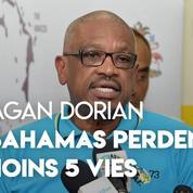 Dorian : le premier ministre annonce un premier bilan de 5 morts aux Bahamas