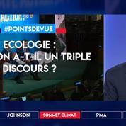 Ecologie : Macron a-t-il un triple discours ?