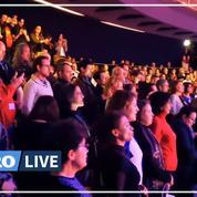 Grève: les Chœurs de Radio France interrompent en chanson les vœux de la PDG