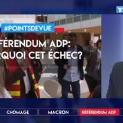 Référendum ADP: pourquoi cet échec?