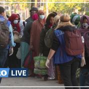 Paris: un camp de migrants démantelé 24 heures après son installation