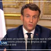 Coronavirus: E. Macron détaille les mesures d'indemnisation et de chômage partiel des salariés