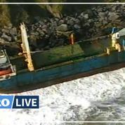 Perdu pendant plus d'un an, un vaisseau fantôme s'échoue en Irlande