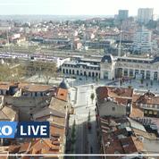 Coronavirus: Toulouse, une ville à l'arrêt vue du ciel