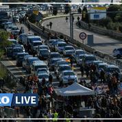 Des indépendantistes catalans bloquent la frontière franco-espagnole