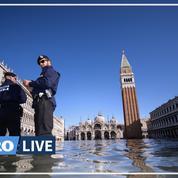Venise toujours sous les eaux après l'«acqua alta»