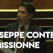 Italie : Giuseppe Conte annonce sa démission après le débat parlementaire