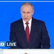 Vladimir Poutine: «La Russie doit rester une république présidentielle forte»