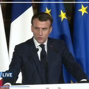 Emmanuel Macron condamne fermement le «scandale humanitaire» en Syrie
