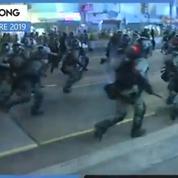 Hongkong : la police déployée en masse déjoue les actions des manifestants