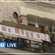 À Paris, concert de casseroles au balcon pour la Fête du travail