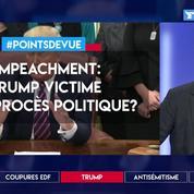 Impeachment: Trump victime d'un procès politique?
