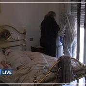 Coronavirus en Italie: une équipe médicale spéciale intervient à domicile soulager les hôpitaux