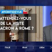 Italie : qu'attendez-vous de la visite de Macron à Rome ?