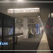 Grève du 6 décembre: la gare de Versailles Chantiers reste quasi-déserte