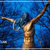 Suède: une statue de Zlatan Ibrahimovic vandalisée