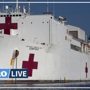 Coronavirus: un navire-hôpital militaire au secours de New-York