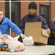 À New York, le chômage monte en flèche, les banques alimentaires prises d'assaut