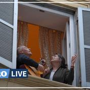 Coronavirus: confinés, les Italiens chantent au balcon