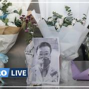 Coronavirus: les Chinois pleurent le médecin lanceur d'alerte décédé