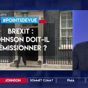 Brexit : Johnson doit-il démissionner ?
