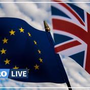 Brexit: le drapeau britannique quitte officiellement le Parlement européen