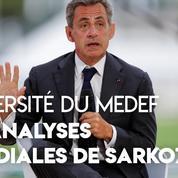 Sarkozy au Medef : l'Iran «est une civilisation multiséculaire et qu'on ne doit pas humilier»