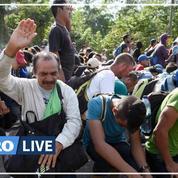 Mexique: une caravane de migrants stoppée par les autorités