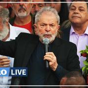 Tout juste sorti de prison, Lula «veut prouver que le Brésil peut être meilleur»