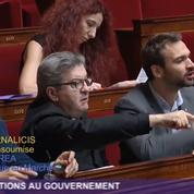 Un échange tendu à l'Assemblée nationale entre Ferrand et Mélenchon