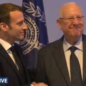 Forum mondial de la Shoah: revivez la conférence de presse de Macron et Rivlin