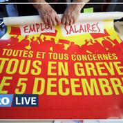 Grève du 5 décembre: le point sur les perturbations en province