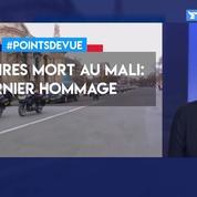Militaires morts au Mali: dernier hommage