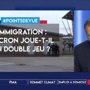Immigration : Macron joue-t-il un double jeu ?