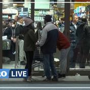 Les supermarchés pris d'assaut à Rome après l'annonce de confinement de l'Italie